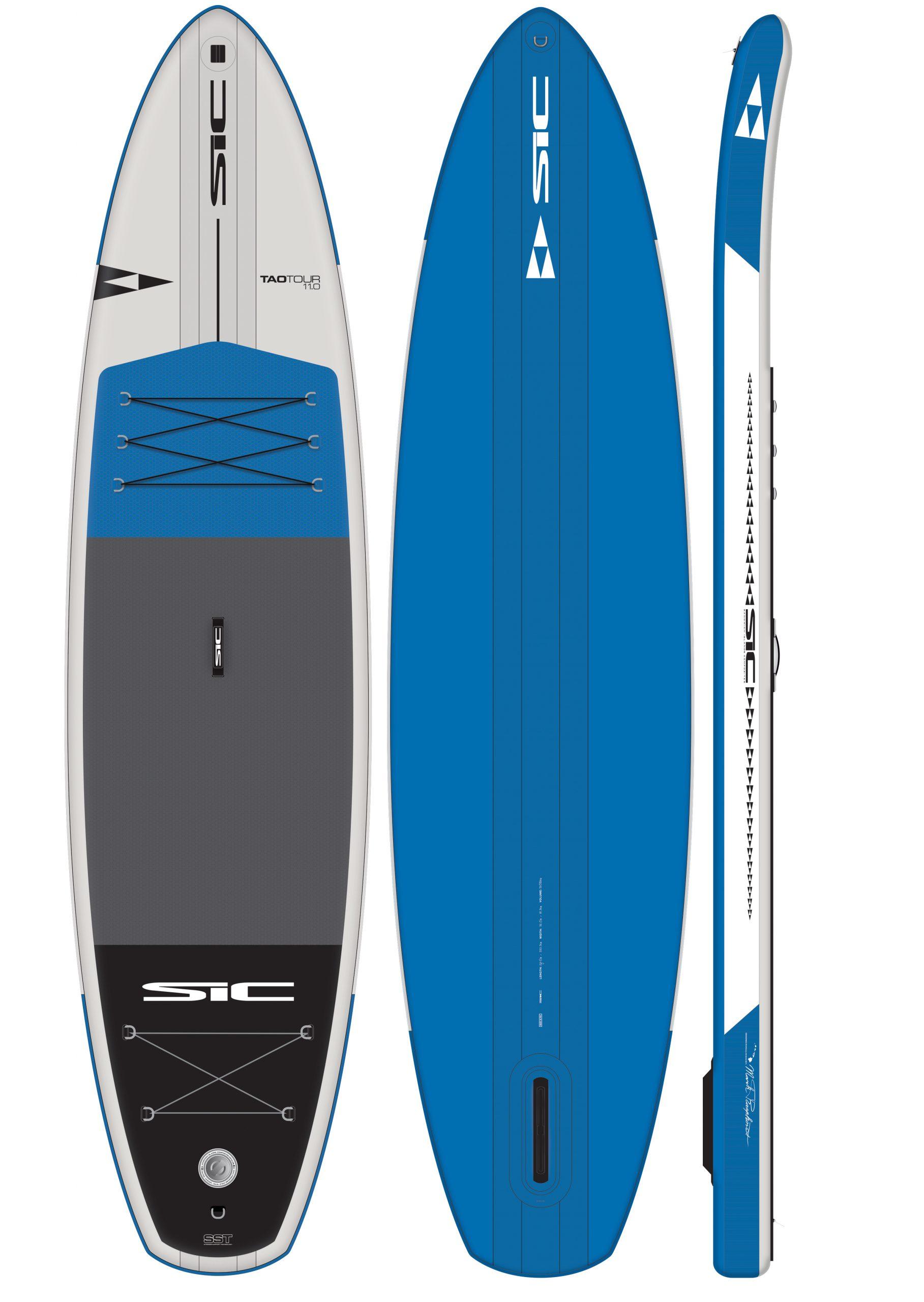 SIC Air-Glide TAO 11.0x32 incl peddel