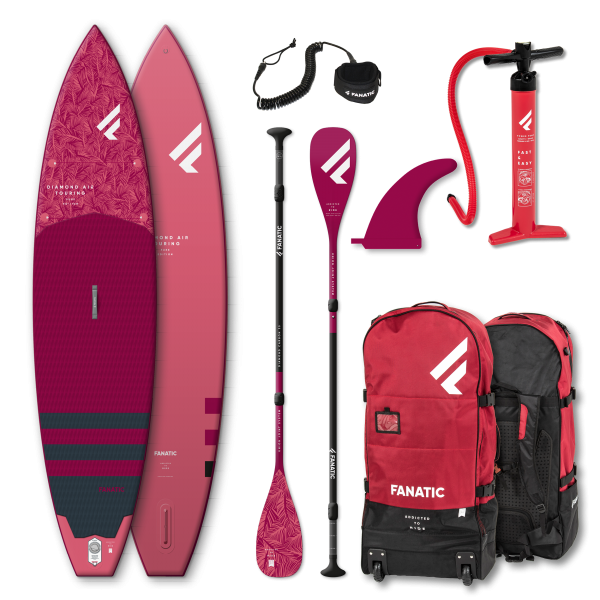 Fanatic Daimond Air Touring 11'6″x 31″ package