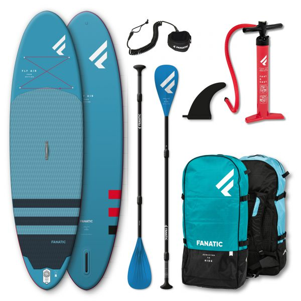Fanatic Fly Air Pure 10.8 incl. peddel