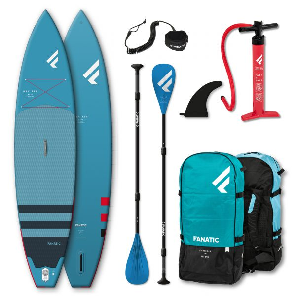 Fanatic Ray Air Pure 12'6″x 32″ package