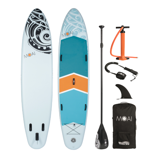 MOAI 12'4″ familie inflatable SUP board