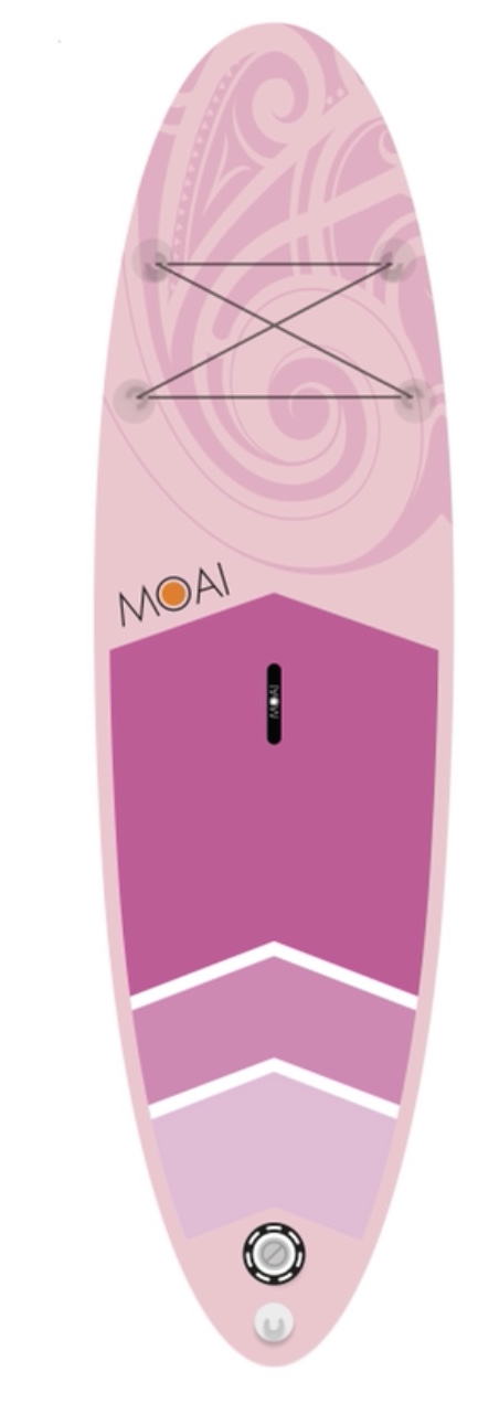 MOAI WS10'6″ Speciale roze editie package