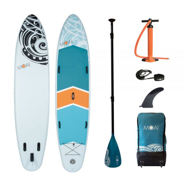 MOAI 12'4″Family board package