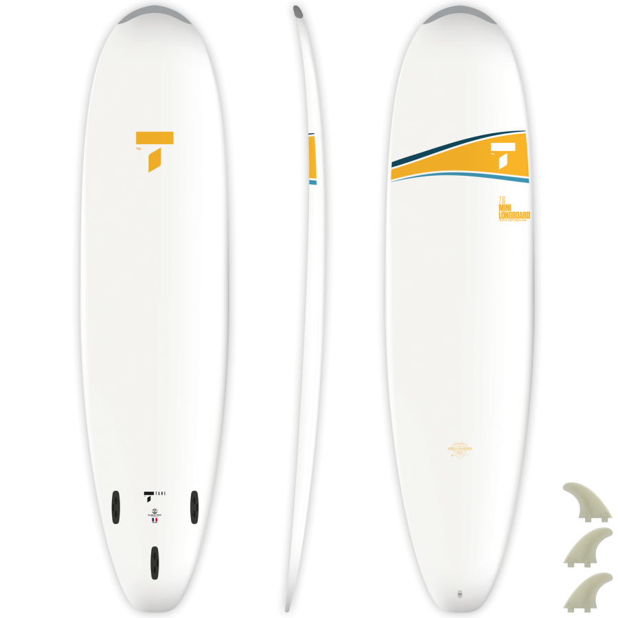TAHE 7'6 Mini longboard