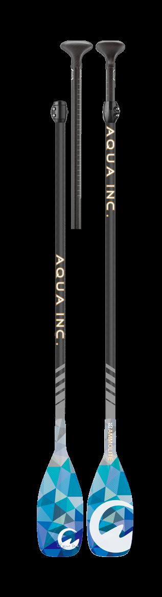 Aqua Inc. Verstelbare peddel Ammolite