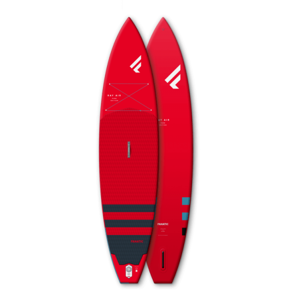 Fanatic Ray Air Pure Red 12'6″ x 32″ Package